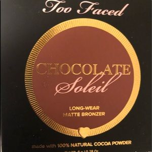 Too Faced chocolate soliel bronzer never used